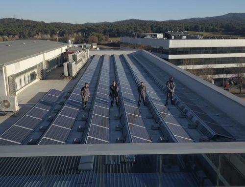 Instalación solar fotovoltaica para autoconsumo Tarde Center