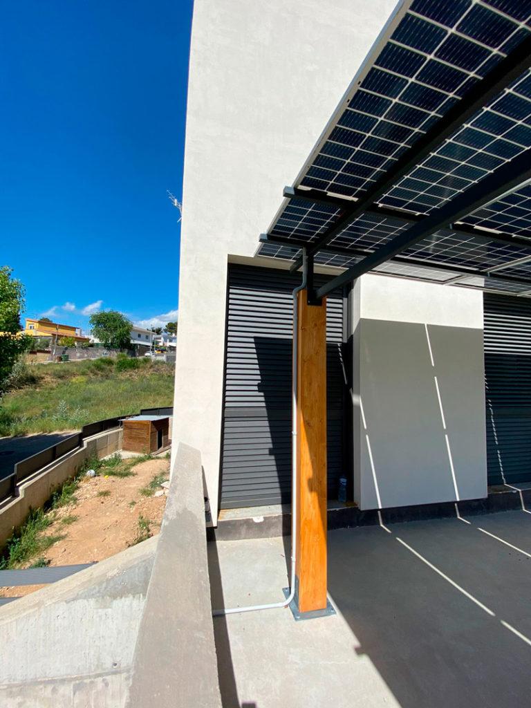 Instalación solar fotovoltaica de autoconsumo enViladecavalls